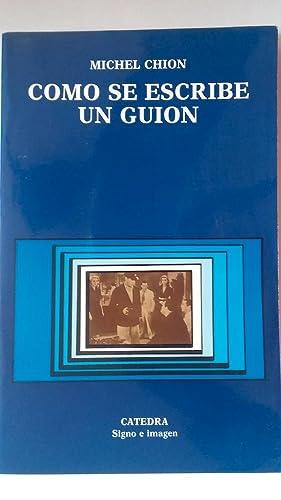 Cómo se escribe un guión: Michel Chion
