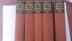 Historia del arte hispánico (5 tomos): Juan Contreras (Marqués de Lozoya)