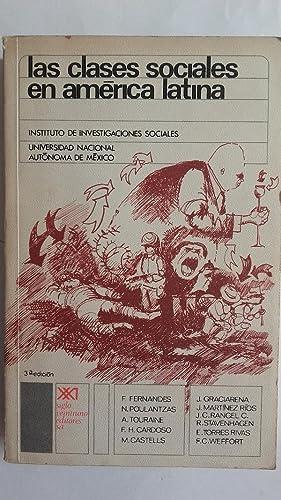La clases sociales en América Latina. Problemas: Florestán Fernandes, Nicos