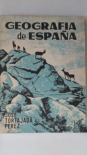 Geografía de España. Primer Curso de Bachillerato: José Tortajada Pérez