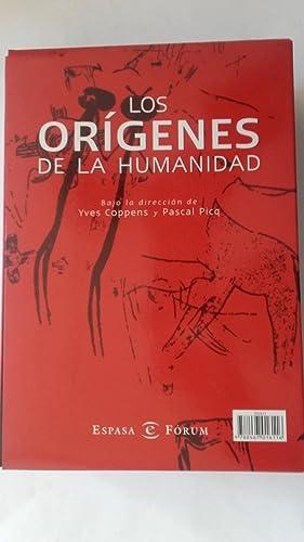 Los orígenes de la humanidad (2 tomos: Bajo la dirección