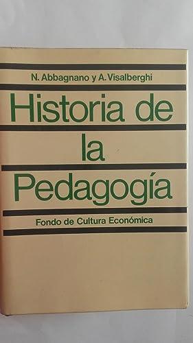 Historia de la pedagogía: N. Abbagnano y