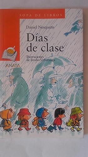 Días de clase: Daniel Nesquens. Ilustraciones