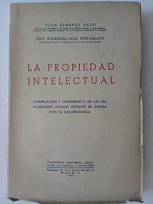 La propiedad intelectual: Juan Giménez Bayo
