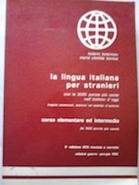 La lingua italiana per stranieri con el: Katerin Katerinov y