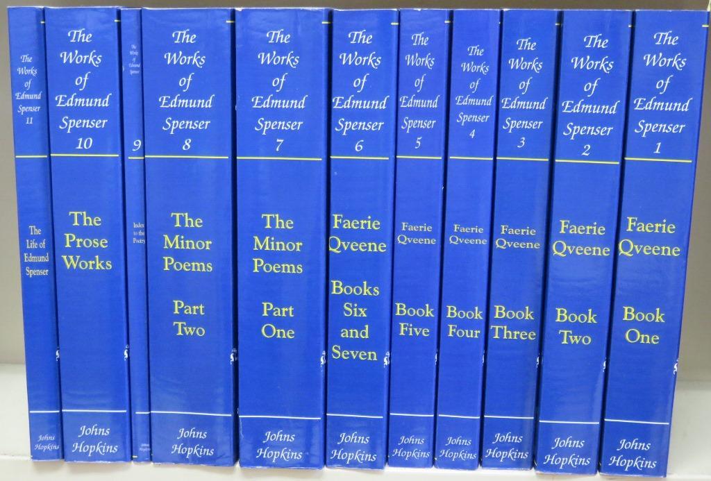 The Works Of Edmund Spenser. Fine Softcover