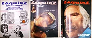 Esquire (magazine, USA) Jan., Feb. & March 1970. 3 issues bound in one book.