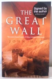 The Great Wall,***SIGNED BY AUTHOR***: Man, John