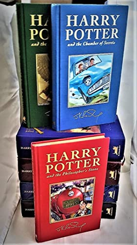 Complete set of the Harry Potter Collector's: J.K. Rowling