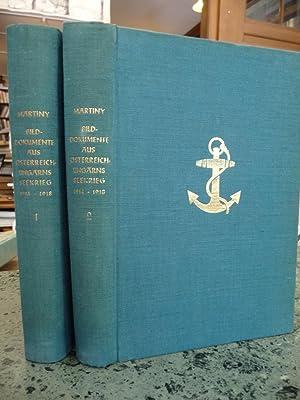 Bilddokumente Aus Osterreich-Ungarns Seekrieg, 1914-1918 (2 Bande): Von Martiny, Nikolaus