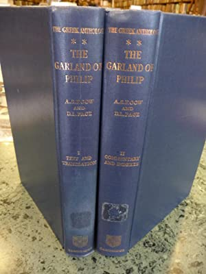 The Greek Anthology: The Garland of Philip and Some Contemporary Epigrams - 2-Volume Set: Vol. I: ...