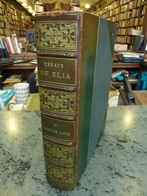 Essays of Elia: Lamb, Charles