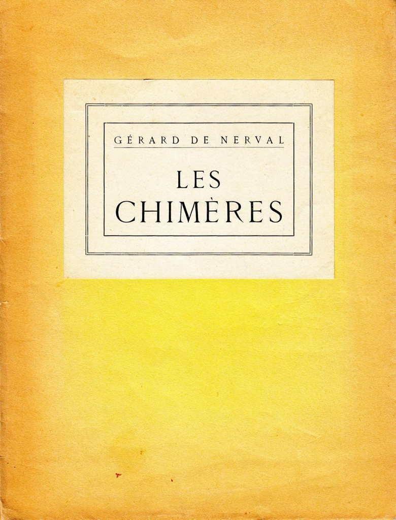 Les Chimères * NERVAL Gérard de : [ ] (bi_10898890763) photo