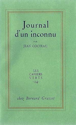 Journal d'un inconnu *: COCTEAU Jean :