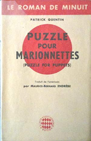 Puzzle pour marionnettes *: QUENTIN Patrick :
