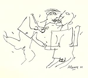 Christiane Alanore I- Les dessins: 1948-1984 *: ALANORE Christiane] ANQUEZ Jean-Michel :