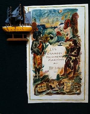 Les grandes découvertes maritimes au XVe siècle *: CL�MENT Charles :