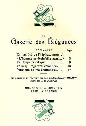 La Gazette des Élégances *: MAGNAT G.-E.: