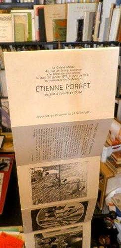 Etienne Porret, dessins à l'encre de chine *: VANDREY L�na :