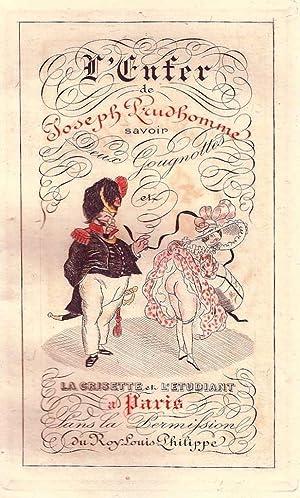 L' enfer de Joseph Prudhomme. Savoir Deux Gougnottes et La Grisette et l'étudiant ...