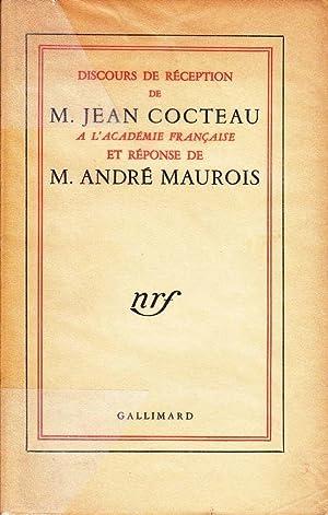 Discours de réception de Monsieur Jean Cocteau à l'Académie Franç...