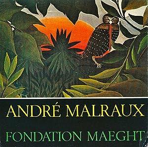 André Malraux *: MALRAUX André] Collectif :