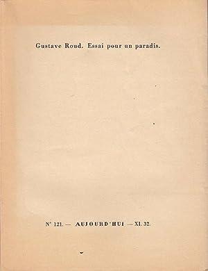 Essai pour un paradis *: ROUD Gustave :