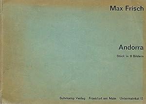 Andorra, Stück in 11 bildern *: FRISCH Max :