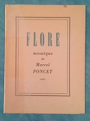Flore, mosaïque de Marcel Poncet *: CRISINEL Edmond-Henri :