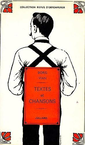 Textes et chansons *: VIAN Boris :