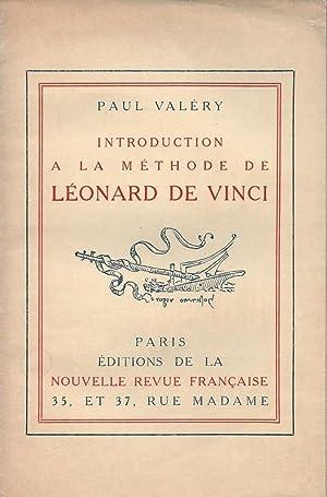 Introduction à la méthode de Léonard de Vinci *: VALÉRY Paul :