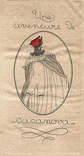 Une aventure de Casanova, histoire complète de ses amours avec la belle C.C. et la ...