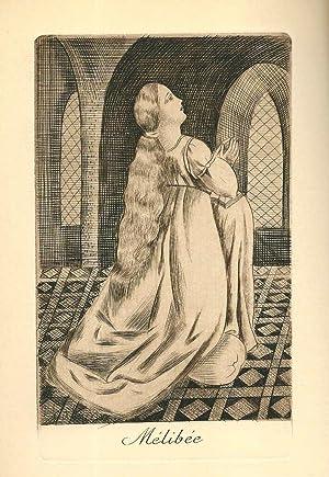 La célestine ou tragi-comédie de Calixte et Mélibée *: ROJAS Fernand de...