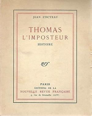 Thomas l'imposteur *: COCTEAU Jean :