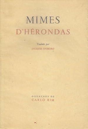 Mimes *: HERONDAS :