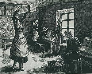 """Suite gravée pour """"Les moulins à papier"""" de C.F. Ramuz *: RAMUZ Charles ..."""
