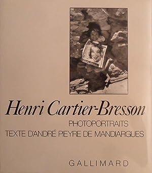 Photoportraits *: CARTIER-BRESSON Henri & PIEYRE DE MANDIARGUES Andr� de :