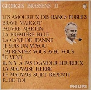 Amoureux by brassens abebooks - Les amoureux des bancs publics brassens ...