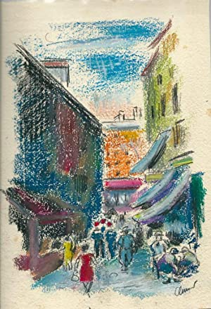 """Je dédie ce cahier de croquis faits à Marseille en été 1929."""" *: ..."""