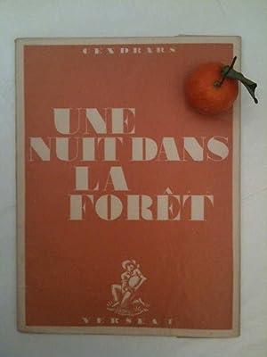 Une nuit dans la forêt *: CENDRARS Blaise :