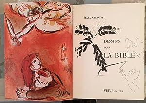 Bible - Dessins pour la Bible *: CHAGALL MARC :