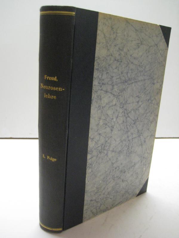 Sammlung kleiner Schriften zur Neurosenlehre aus den Jahren 1893-1906. 5 Bde. in 3 Bänden.: ...