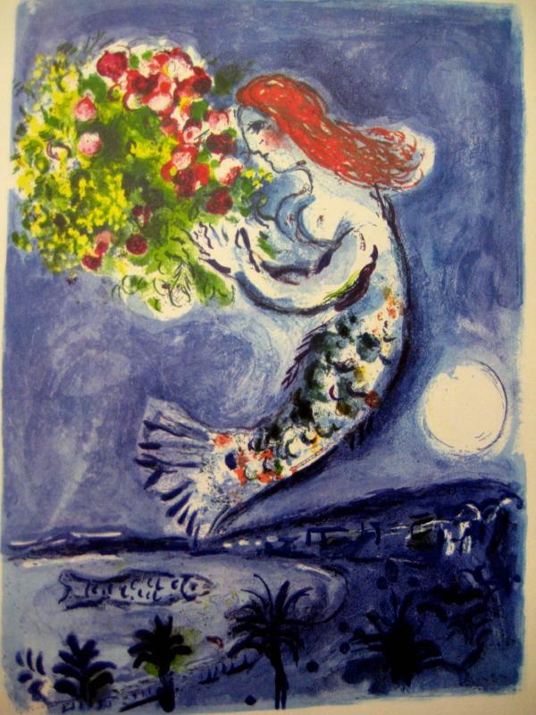 Chagall Lithograph (I). Vorwort von Marc Chagall.: Chagall, Marc. Cain,