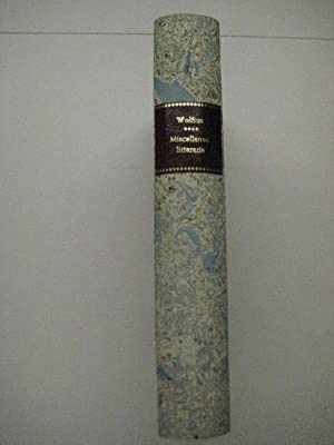 Miscellanea maximam partem litteraria.: Homer. Wolf, Friedrich August.