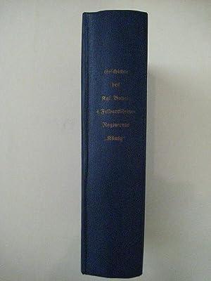 "Das Kgl. Bayerische 4. Feldartillerie-Regiment ""König"" 1859 - 1919. Hrsg. vom ..."