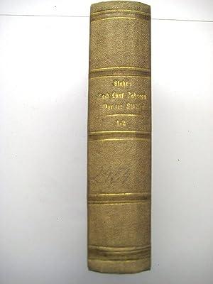 Nach fünf Jahren. Pariser Studien aus dem Jahre 1855. 2 Teile in 1.: Stahr, Adolf.
