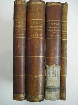 Geschichte der dramatischen Literatur und Kunst in Spanien. 4 Bde.: Schack, Adolph Friedrich Graf v...