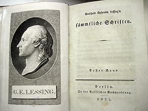 Sämmtliche Schriften. [Hrsg. von J. F. Schink]. 32 Bde. in 16.: Lessing, Gotthold Ephraim.