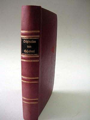 Originalien.: Schubart, Christian Friedrich Daniel.