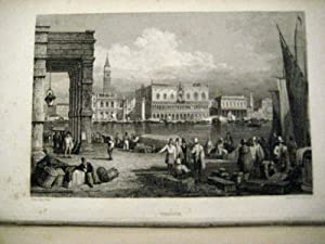 The Tourist in Italy. Illustrated from drawings by S. Prout.: Italien. Roscoe, Thomas.